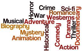 genre word art 2