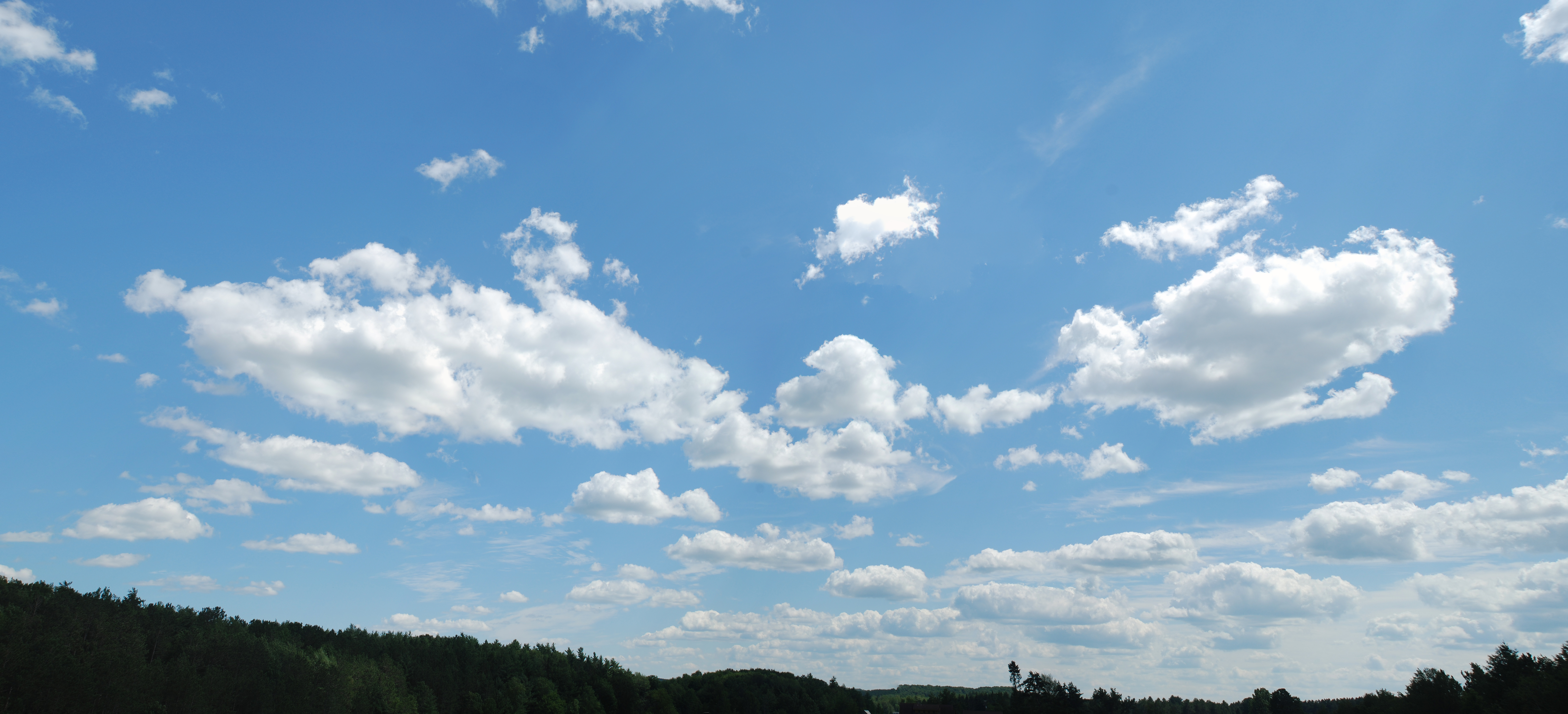 nature - blue sky with cloud