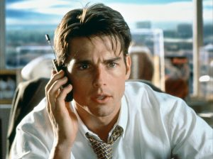 screenwriting agents UK - Tom Cruise Jerry Maguire